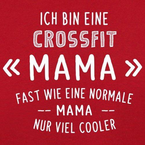 Ich bin eine Crossfit Mama - Herren T-Shirt - 13 Farben Rot