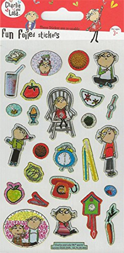 Paper Projects Charlie and Lola Foiled Stickers
