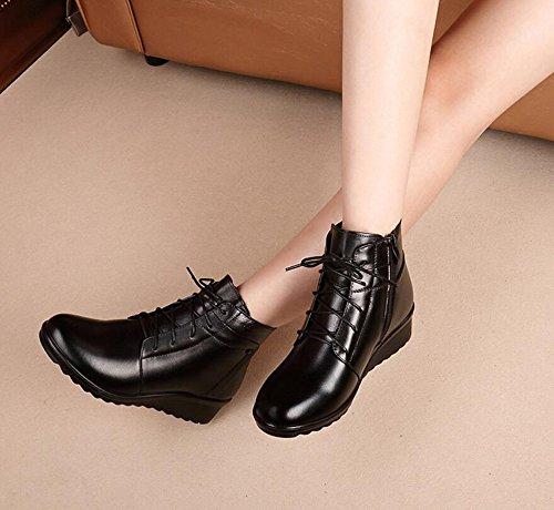 KHSKX-Ma Mère Chaussures Coton Plus D'Hiver Chaud Mère Antidérapant Chaussures Coton Snow Shoe 5Cm Avec Des Chaussures En Coton 35 Skechers Sendro Bascom 7HuvD
