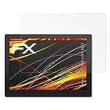 atFolix Schutzfolie kompatibel mit Lenovo ThinkPad X1 2017 Bildschirmschutzfolie, HD-Entspiegelung FX Folie (2X)