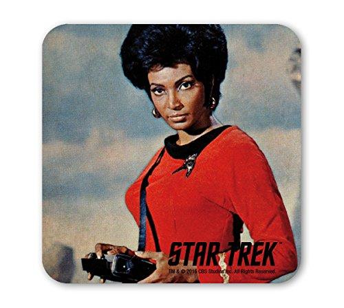 Star Trek - USS Enterprise - Commander Uhura Works Coaster - Untersetzer - farbig - Lizenziertes Originaldesign - LOGOSHIRT (Commander Küche)