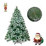 FROADP 210cm Albero di Natale Artificiale Ago di Pino Verde...