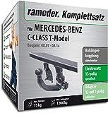 Rameder Komplettsatz, Anhängerkupplung abnehmbar + 13pol Elektrik für Mercedes-Benz C-Class T-Model (142973-06437-1)