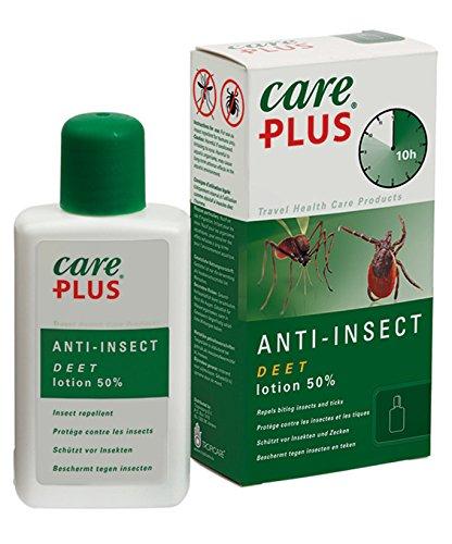 Tropicare Care Plus Anti-Insect Deet 50{b74b6a0463a231f305bbf32fd5ec9130151ca3a44060661fec18be5aefd4c0db} Lotion - Schutz vor Insekten und Mücken