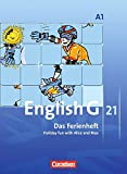 English G 21 - Ausgabe A: Band 1: 5. Schuljahr - Das Ferienheft: Holiday fun with Alice and Max. Arbeitsheft