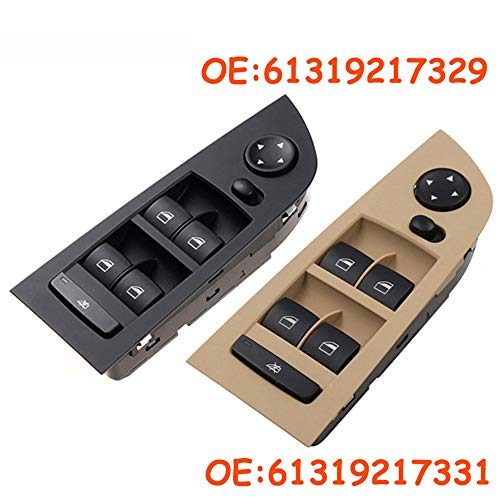 SLONGK OEM 61319217329 & 61319217331, Für BMW E90 E91 318I 320I 325I 335I 2004-2012 Fensterheber Schalter Auto Autoteile