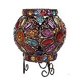Retro Créatif Exotiques Lampe de table,Palan Chambre Lampe de chevet Bar salle des enfants Lampe de table-A