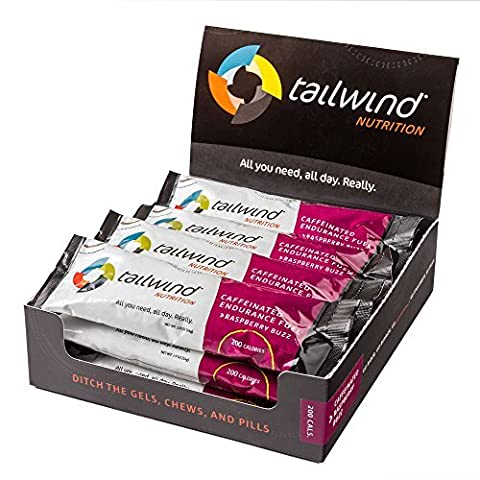 Tailwind Nutrition 12-Pack Raspberry Buzz Stick Packs
