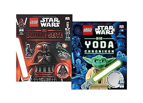 Lego Star Wars Bücher Set - Die Dunkle Seite der Macht und Die Yoda Chroniken Buch