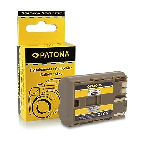 Batterie BP-511 pour Canon PowerShot G1 | G2 | G3 | G5 | G6 | Pro1 | Pro 90 IS | EOS 5D | 50D | 10D | 20D | 20Da | 30D | 40D | 300D | D60 | Camcorder MV30 | MV300 | MV400 | MV450 | MV500