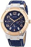 Guess Damen-Armbanduhr Analog Quarz Leder W0289L1
