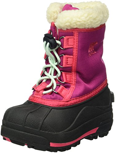 Sorel Childrens Cumberland, Bottes mixte enfant Rose (Deep Blush 684)