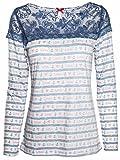 Mogul Damen Longsleeve (langarm Shirt) Juliann Vi-Flammé Artikel-Nr.17210034-7077 M