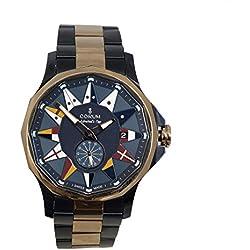 Corum 395-101-34-V705-AB11 - Reloj para hombres, correa de acero inoxidable color azul