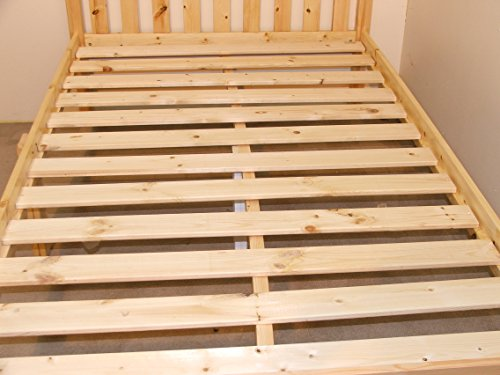 Strictly Beds and Bunks Limited Heavy Duty Kingsize wooden pine Bed 5ft Shaker Style - VERY STRONG