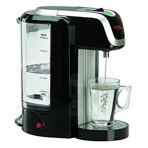 Cooks Professional Electric Instant Hot Water Dispenser 2.5L 2600W (Silver & Black)