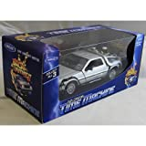 Welly Back To The Future Part 2 DeLorean Time Machine 1:24 Scale Diecast Model Car