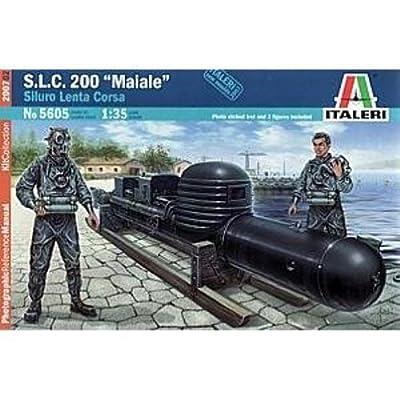Italeri - I5605 - Maquette - Bateau - SLC Maiale - Echelle 1:35