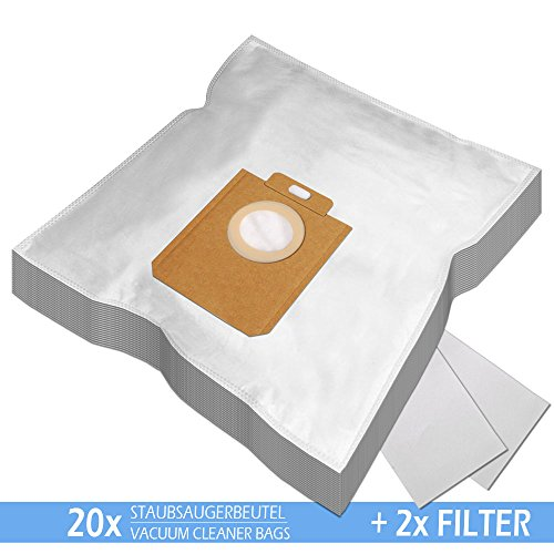 SPARPAKET - 20 Staubsaugerbeutel geeignet für ROSSMANN R 040, R040