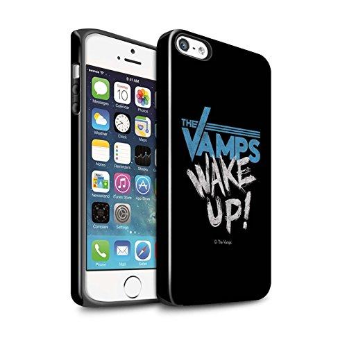 Officiel The Vamps Coque / Brillant Robuste Antichoc Etui pour Apple iPhone 5/5S / Pack 6pcs Design / The Vamps Graffiti Logo Groupe Collection Réveillez-Vous!