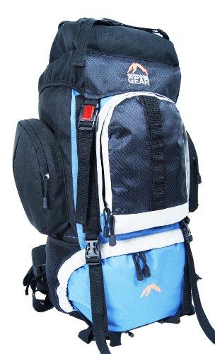 Outdoor Gear L2304 - Zaino da campeggio/hiking, nero (Air Force Blue), 50L