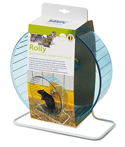 Nobby Savic Rolly Giant + Supporto Ruota per Esercizi Diametro 27,5cm