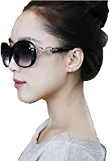 Ziory 1 pc Black Cat Eye Women Eyewear Sunglasses Super Round Circle Cat Eye Women Sunglasses Classic Fashion Style Designer Oversized Sunglasses for Girls and Women