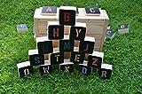 Holzspiel - Alphabet ( MEIN A B C ) Outdoor-Spiel