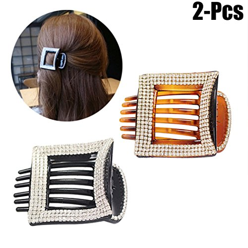 2 elegantes pinzas para el pelo por sólo 0,70€ con el #código: 2OEYFT4A