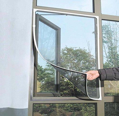 Magnetische Bildschirm-Fenster, Diy-Familien-Bildschirm-Tür Mit Magnet-Bildschirm-Tür-Klettverschluss Magnetische Bildschirm-Tür-Netz-Unsichtbarer Moskito-Abwehr - 60X120cm (24X55 In),#1,60*140Cm