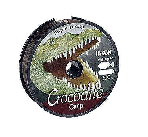 Jaxon Angelschnur Crocodile CARP 600m Spule 0,25-0,35mm Monofile Karpfen Schnur (0,025€/m) (0,27mm / 14kg)
