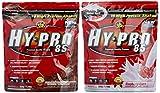 All stars Hy-Pro 85 Beutel 2er Mix Pack (2 x 500 g) Schoko/Himbeer-Quark, 1er Pack (1 x 1 kg)