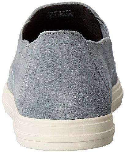 Geox Damen D Amalthia B Sneakers Blau (LAKEC4069)