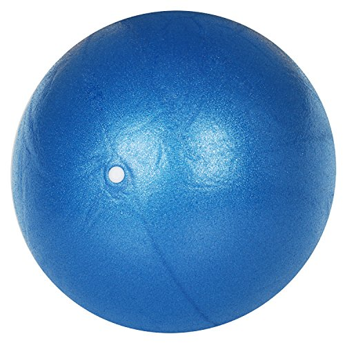 TRIXES blauer Pilates-Ball Übung Gymnastikball aus PVC-Schaum Yoga Workout Gym Übung