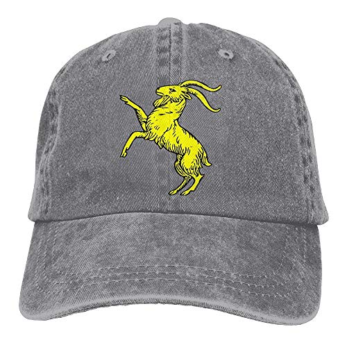 Baseball Cap Gold Goat Men Women Baseball Cap Adjustable Dad Hat