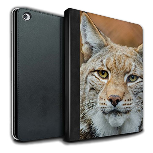 stuff4-pu-leather-book-cover-case-for-apple-ipad-air-2-tablets-lynx-bobcat-design-north-america-anim