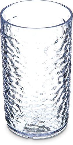 Carlisle 550507 Pebble Optic Gobelet, Plastique, claire, 8 Oz.