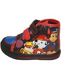 b1a1b55cd52 Boys Kids Quality Paw Patrol Cartoon Triple Touch High-Top Character Shoe