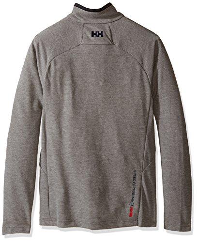 Helly Hansen Herren Pullover HP 1/2 Zip Grey Melange