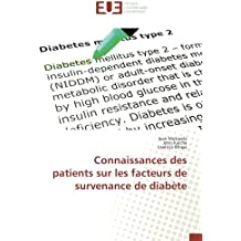 Connaissances des patients sur les facteurs de survenance de diabète