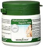 Natura Vitalis Hyaluronsäure Kapseln MM, 120 Kapseln, 1er Pack (1 x 51 g)