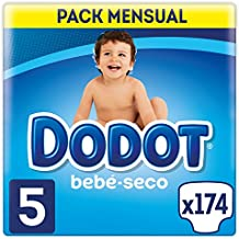 Dodot Bebé-Seco - Pañales para bebé con canales de aire, 11-16