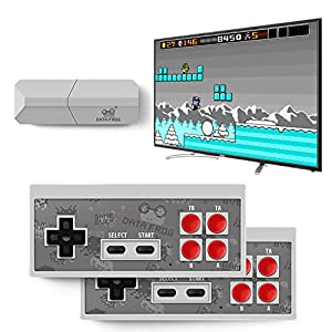 DZSF USB Wireless Handheld TV Videospielkonsole Bauen in 600 Classic Game 8 Bit Mini-Video-Konsole Unterstützung AV…