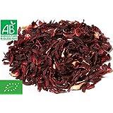 Fleurs d'Hibiscus séchées Bio 1kg (Bissap, Karkadé) 🌺EN PROMO%