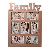 eCraftIndia Family Collage Brownish Phot...