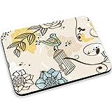 Gabbie per Uccelli 10001, Volatili, Mouse Pad Tappetino per Mouse Mouse Mat con Disegno Colorato Antiscivolo in Gomma di Base Ideale per Giocare 250 x 190mm.