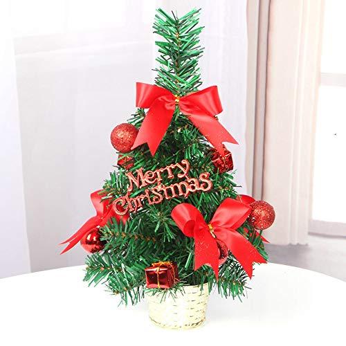 Hniunew 4 Farben Weihnachtsbaum Weihnachten Topfpflanzen 30cm unechter künstliche Tanne Mini Tisch christbäume nordmanntanne künstliche Baum Dekoration Weihnachtsdeko