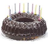 PAPSTAR 12730 Geburtstagskerzen, aus Wachs, weiß gestreift