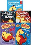 The Dinosaurs That Pooped Collection 5 Books Set (The Dinosaur That Pooped A Lot, The Past, Christmas, A Planet, The Bed)