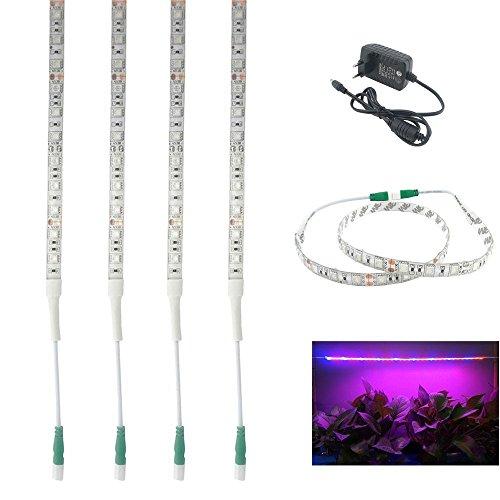 Bonlux-4-Packs-de-los-600MM-LED-resistente-al-agua-kit-de-cultivo-de-tira-flexible-de-la-luz-12V-Rojo-Azul-3-1-Full-Spectrum-5W-Planta-Tira-de-luz-LED-de-barra-con-adaptador-2A-para-el-jardn-invernade